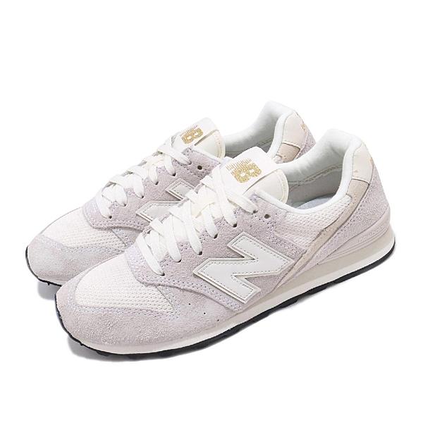 New Balance 休閒鞋 NB 996 灰 米白 女鞋 麂皮 運動鞋 【ACS】 WL996VHAB