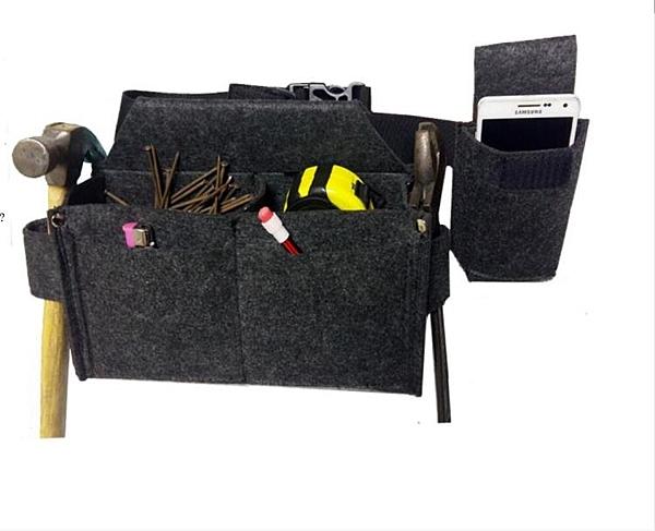 木工釘子包 工具腰包 釘子兜耐磨布料工具腰包帆布木工包專業定做 伊衫風尚