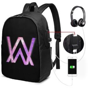 Fade Alan Walker リュック 大容量 バッグパック メンズ レディース 通勤 通学 旅行 PCリュック ビジネス 軽量 登山 アウトドア USBポート付き
