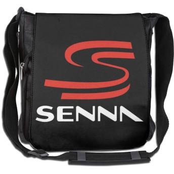 アイルトン・セナ Ayrton Silva ショルダーバッグ 男女兼用 斜めがけ ワンショルダー バック カバン メッセンジャーバッグ 肩掛け 通学 通勤 旅行