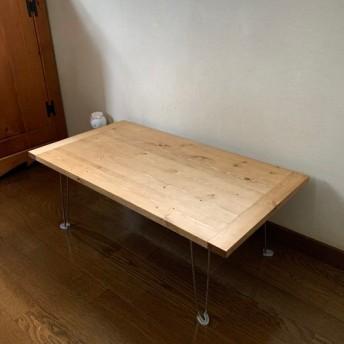 折りたたみテーブル/アウトドア用テーブル/ミニテーブル/アイアン風/ローテーブル/センターテーブル/カフェテーブル/限定
