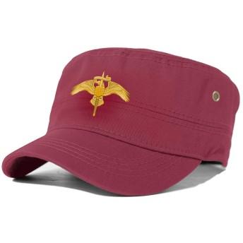Marine Corps Announces New MARSOC Insignia-Pin Red シンプルなファッション寛大なコットン印刷プロセス大人のフラットハット快適な フィット頭囲ユニセックスマルチカラーマルチシナリオ