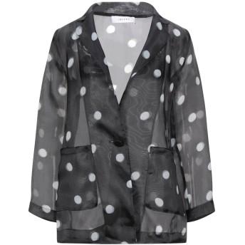 《セール開催中》I BLUES レディース テーラードジャケット ブラック 40 ポリエステル 100%