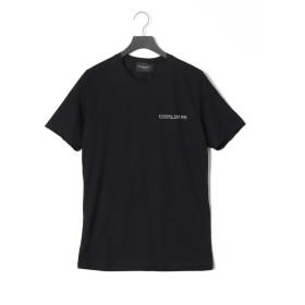 【57%OFF】BASIC プリント クルーネック 半袖Tシャツ ブラック xl