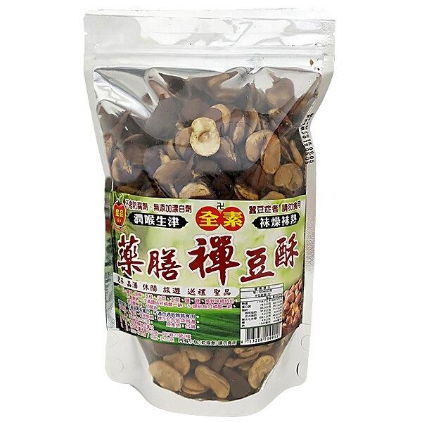 皇品 藥膳禪豆酥-全素 340g (24入)/箱【康鄰超市】