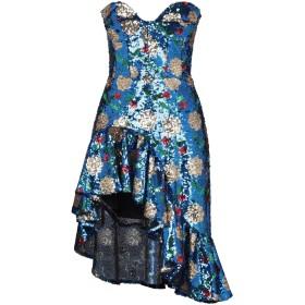 《セール開催中》GIUSEPPE DI MORABITO レディース ミニワンピース&ドレス ブルー 38 指定外繊維 96% / ポリウレタン 4%
