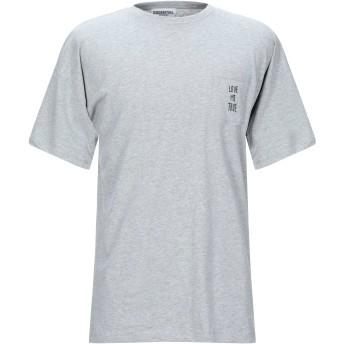 《セール開催中》ESSENTIEL ANTWERP メンズ T シャツ グレー M コットン 100%