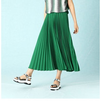 【LUMINOSO COMMECA:スカート】アコーディオン プリーツスカート