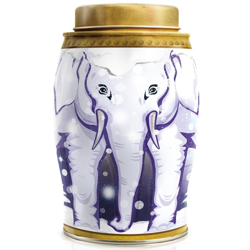 威廉森茶-魔幻水晶球大象茶罐(內含伯爵茶/40個熱封式茶包)