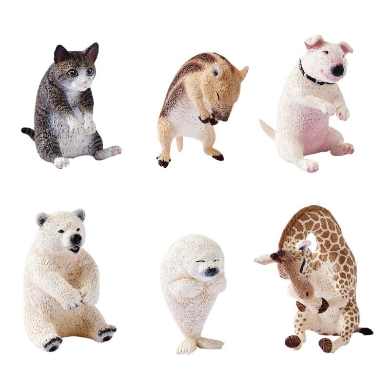 Union Creative 朝隈俊男 Animal Life Baby Hug 愛抱抱系列盒玩 玩具反斗城