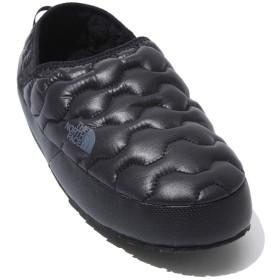 [ザ・ノース・フェイス] サーモボール トラクション ミュール ウインタースニーカー レディース 防寒靴 THERMOBALL TRACTION MULE WOMENS (24.0cm, BLACK) [並行輸入品]