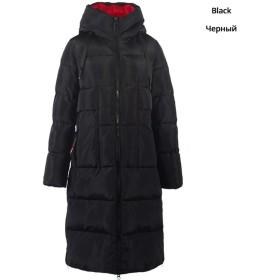 新しい冬の女性ジャケット高品質ロング女性コートフード付き女性パーカースタイリッシュな女性の服、G901、46