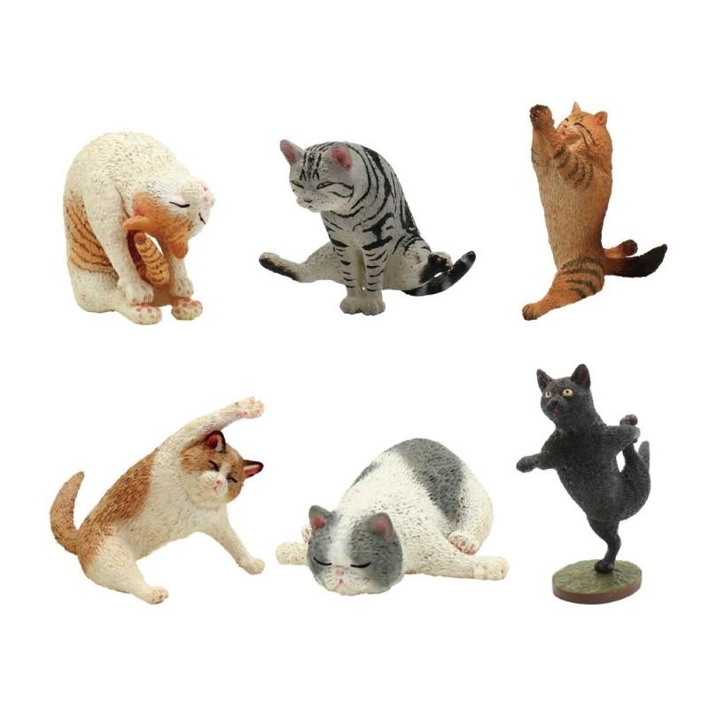 UNION CREATIVE ANIMAL LIFE 瑜珈貓 盒玩 玩具反斗城
