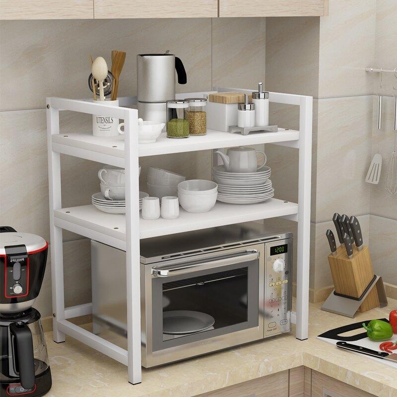 微波爐架子烤箱架置物架多家用味料架收納置物架架碗架