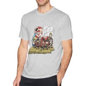 多色 Tシャツ 進撃の巨人 Attack on Titan トップス メンズ クルーネック 半袖 スポーツシャツ Men's T Shirt