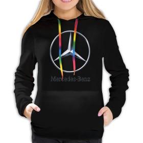 Benz ベンツ 4 レディース プルオーバー トレーナー パーカー レディース 長袖 プルオーバー スウェットパーカー フード付き ゆったり カジュアル ポケット 暖かい 春秋冬