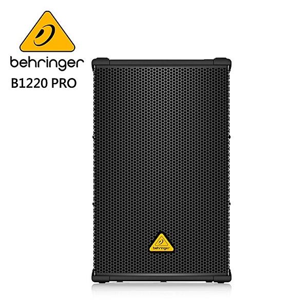 BEHRINGER B1220D-PRO 被動式喇叭 (專業1,200瓦12英寸PA揚聲器系統)