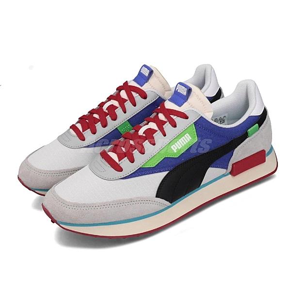 372838-01 蔡依林 明星代言款 厚底 繽紛色塊 輕量 舒適 球鞋穿搭推薦 情侶鞋