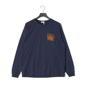 【40%OFF】長袖Tシャツ ネイビー 01