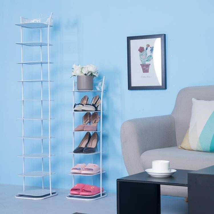鞋架 多層簡易客廳家用鐵藝經濟型多功能簡約迷你防塵門口鞋架鞋櫃
