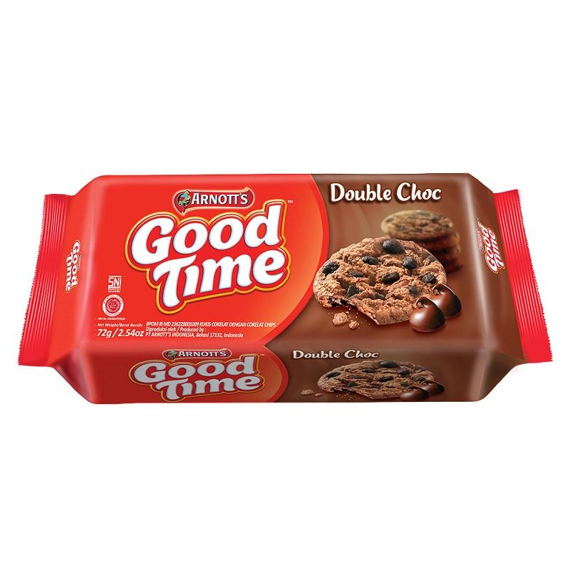 雅樂思好時光雙重巧克力餅乾72g