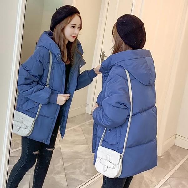 面包服女反季特賣冬裝新款韓版寬鬆羽絨棉襖厚外套很仙的棉服