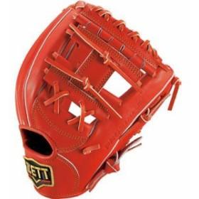 ゼット 一般軟式グラブ プロステイタス 二塁・遊撃手用 右投げ 軟式野球グローブ BRGB30024-5800