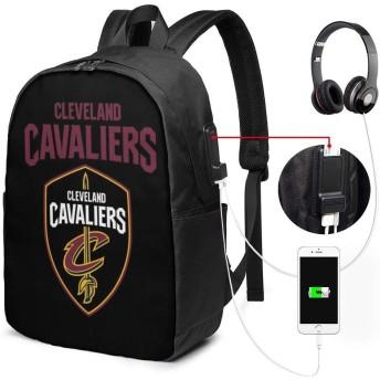 .クリーブランドキャバリアーズ リュック 大容量 バッグパック メンズ レディース 通勤 通学 旅行 PCリュック ビジネス 軽量 登山 アウトドア USBポート付き
