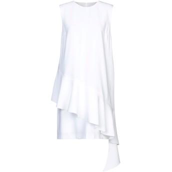 《セール開催中》PINKO レディース ミニワンピース&ドレス ホワイト 38 100% ポリエステル