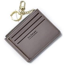 Star Blossom 財布 カード入れ 二つ折り カードケース 財布 メンズ 薄型 レディース おしゃれ 名刺入れ カード入れ 人気ブランド 男女兼用 多彩 PU製 小銭入れ ミニ 小さい (ダークグレー)