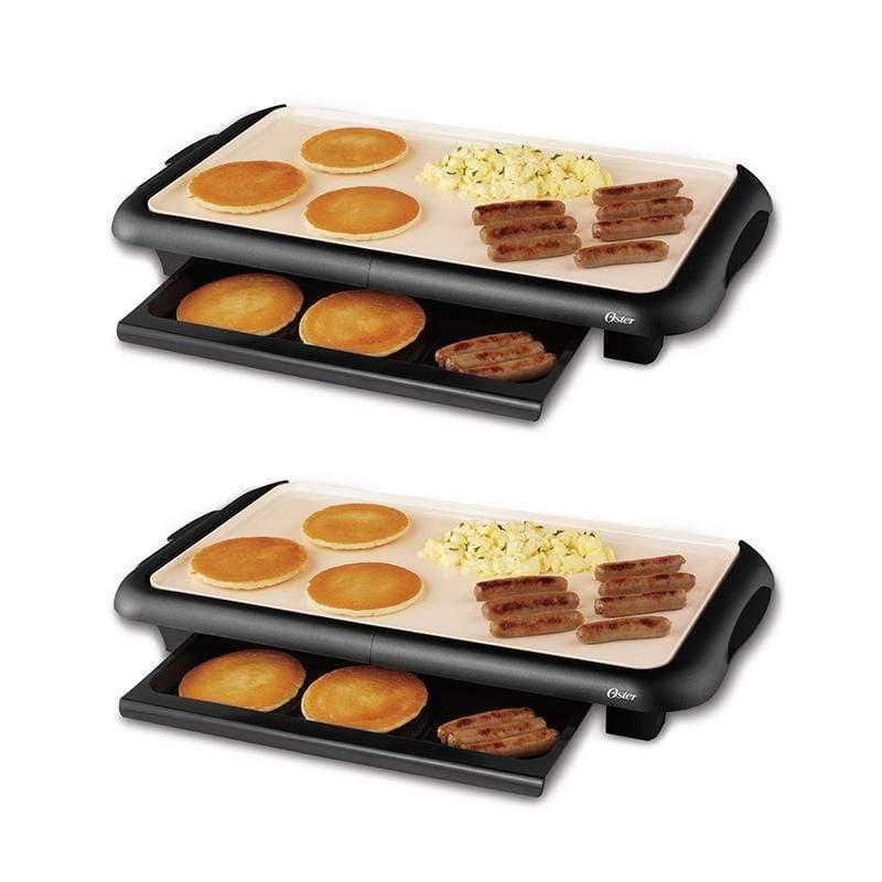 BBQ陶瓷電烤盤(2入組)