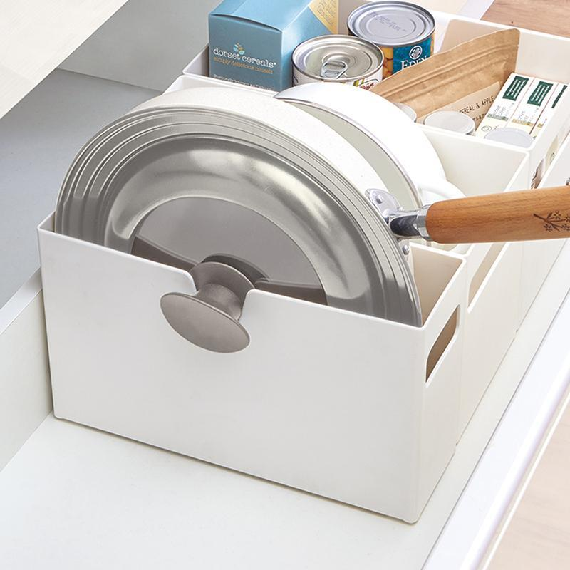 廚房系列平口式櫥櫃抽屜用ABS收納籃-寬9CM-3入 單一規格