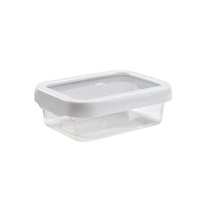 好好開密封保鮮盒0.7L-2入(共二色) 白色