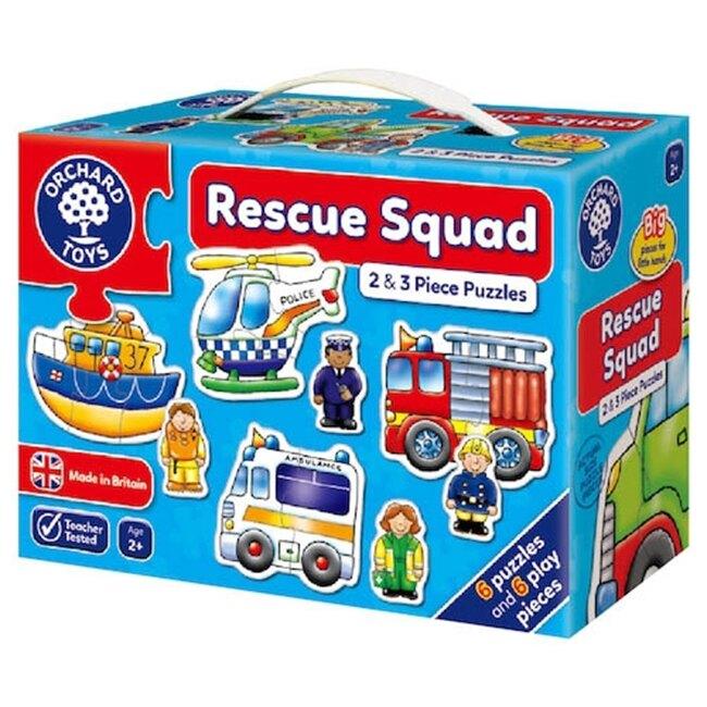 【英國 Orchard Toys】遊戲拼圖-救援小英雄 Rescue Squad Jigsaw Puzzle OT-204