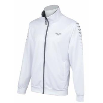 arena(アリーナ) ジャケット トレーニングジャージ AMUOJF12 (WHT)ホワイト O