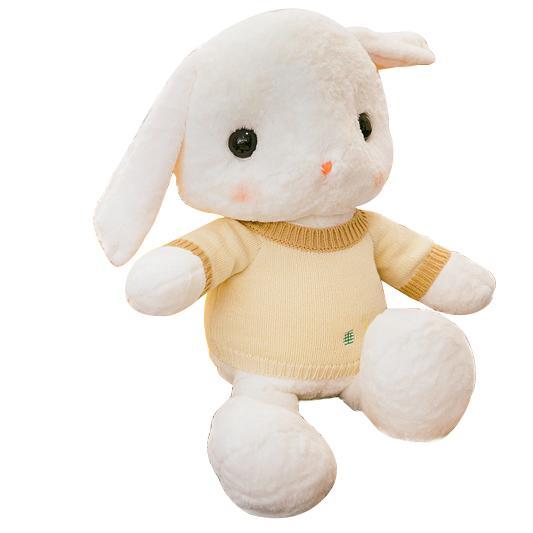 韓國可愛公仔睡覺抱枕女孩兔子毛絨玩具玩偶女生布娃娃公主送女友