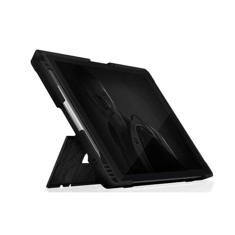 Dux Shell for MS Surface Pro 7 (相容4/5/6代) 專用軍規防摔平板保護殼 - 黑