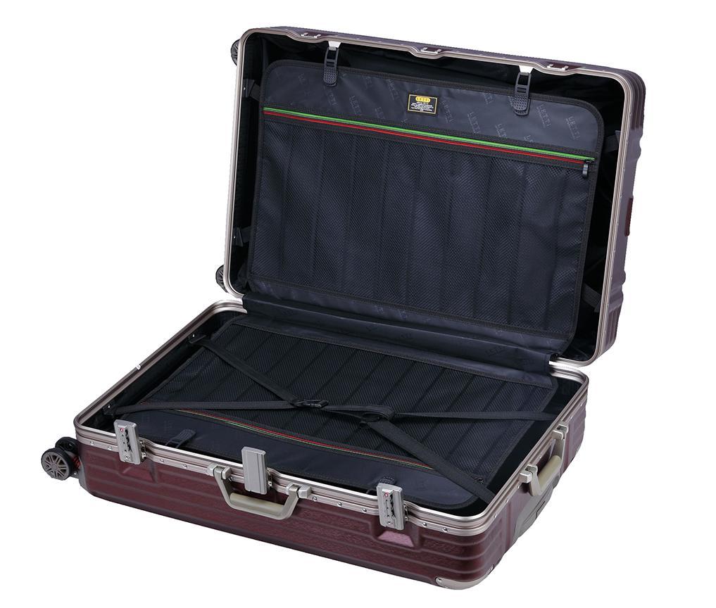 ~雪黛屋~COLORS 20吋行李箱防盜鋁框外掛勾金屬防撞角固定海關密鎖360度雙飛機輪旋轉耐摔磨損檢測通過#1345