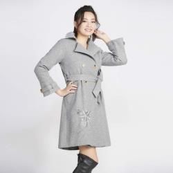 蘭陵首款高級訂製羊毛絨大衣-獨