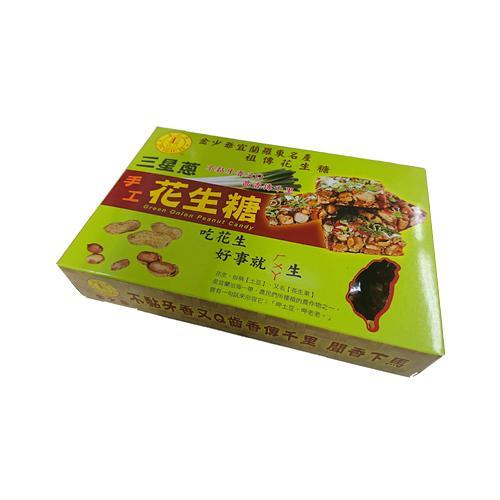 宜蘭金少爺三星蔥花生糖250g【愛買】
