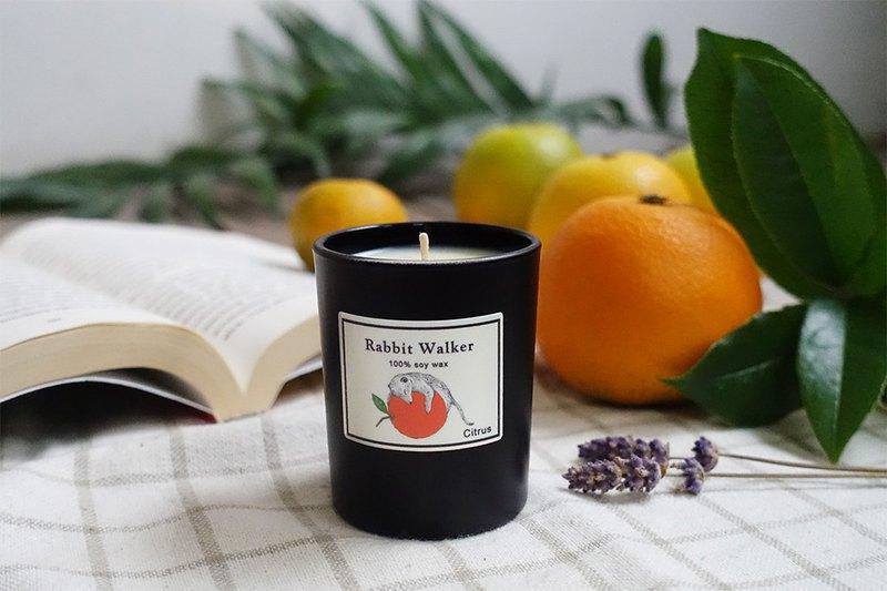 柑橘狐蒙-香氛蠟燭65g