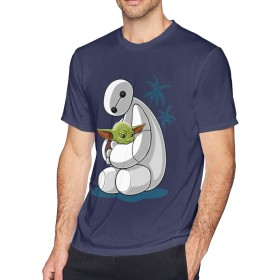 多色 Tシャツ Kawaii Galaxy トップス メンズ クルーネック 半袖 スポーツシャツ Men's T Shirt
