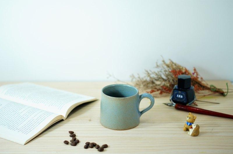 消光藍小山形杯-約200ml,茶杯,馬克杯,水杯,咖啡杯