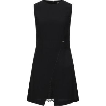 《セール開催中》GAUD レディース ミニワンピース&ドレス ブラック 40 ポリエステル 100%