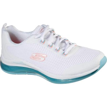 [スケッチャーズ] シューズ スニーカー Skech-Air Element 2.0 Sneaker White/Blue レディース [並行輸入品]