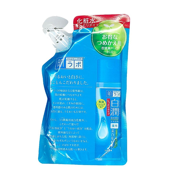 【ROHTO】肌研白潤淨白化粧水補充包(潤澤型)