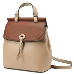 手提げ袋 女性野生のファッションレザーショルダーバッグオイルワックスレザーショルダーバッグバックパックの女性 手提げ袋
