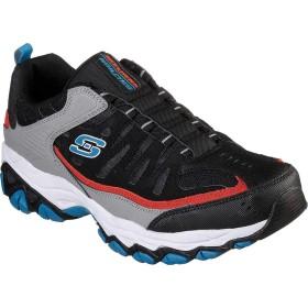 [スケッチャーズ] シューズ スリッポン・ローファー After Burn M. Fit Slip-On Walking Shoe Black/Gray メンズ [並行輸入品]