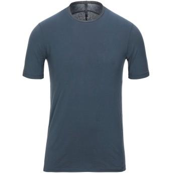 《セール開催中》TRANSIT メンズ T シャツ ダークブルー XS コットン 96% / リネン 3% / ナイロン 1%