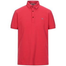 《セール開催中》ETRO メンズ ポロシャツ レッド L コットン 100%